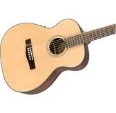 Fender CT-140SE, Natural, Rosewood Electro Acoustic Travel Guitar & Hard Case