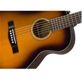 Fender CT-140SE, Sunburst, Rosewood Electro Acoustic Travel Guitar & Hard Case