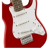 Fender Squier Mini Strat (v2), Torino Red, Laurel, Electric Guitar