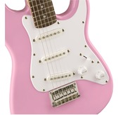 Fender Squier Mini Strat (v2), Pink, Laurel