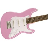 Fender Squier Mini Strat (v2), Pink, Rosewood Electric Guitar