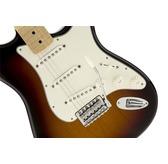 Fender Standard Stratocaster, Brown Sunburst, Maple