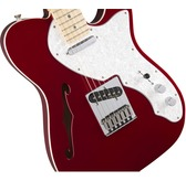 Fender Deluxe Tele Thinline, Candy Apple Red, Maple