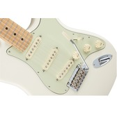 Fender Deluxe Roadhouse Strat, Olympic White, Maple