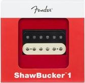 Fender Shawbucker 1 Humbucking Pickup, Zebra