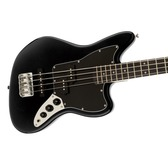 Fender Squier Vintage Modified Jaguar Bass Special SS, Black, Indian Laurel