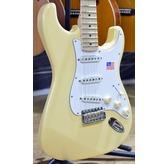 Fender Yngwie Malmsteen Stratocaster, Vintage White, Maple