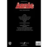 Annie (Piano and Voice Selections)