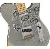 Fender Brad Paisley Road Worn Telecaster, Silver Sparkle, Maple