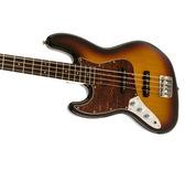 Fender Squier Vintage Modified Left-Handed Jazz Bass 3-Colour Sunburst, Rosewood