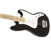 Fender Squier Bronco Bass, Black, Maple