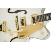 Gretsch G5422TG Electromatic Hollow Body Double-Cut with Bigsby, Snowcrest White