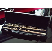Paragon Nickel Plated Flute Outfit with Leatherette Hard Case, Closed hole and E Mechanism
