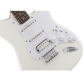 Fender Squier Bullet Stratocaster Hard Tail HSS, Arctic White, Rosewood