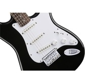 Fender Squier Bullet Stratocaster Hard Tail, Black, Rosewood