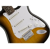Fender Squier Bullet Stratocaster Hard Tail, Brown Sunburst, Rosewood