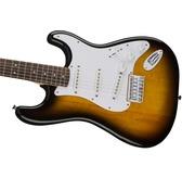 Fender Squier Bullet Stratocaster Hard Tail, Brown Sunburst, Rosewood
