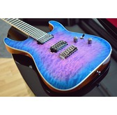 Jackson Pro Series Soloist SL2Q HT MAH, Northern Lights, Ebony