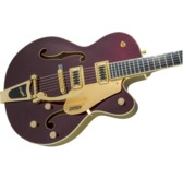 Gretsch G5420TG Electromatic Hollow Body Single Cut Bigsby, Dark Cherry Metallic