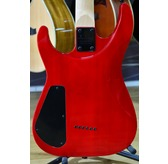 Jackson JS Series Dinky Arch Top JS32TQ, Transparent Red, Rosewood