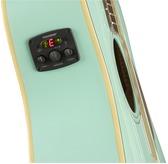 Fender Malibu Player, Aqua Splash Electro Acoustic Guitar