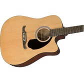 Fender FA-125CE Dreadnought, Natural Electro Acoustic Guitar