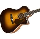 Fender Paramount PM-4CE Auditorium Limited, Sunburst Electro Acoustic Guitar