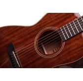 Auden Artist M Marlow Mahogany Parlour Electro Acoustic Guitar & Case