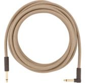 Fender 18.6' Angled Festival Instrument Cable, Pure Hemp, Natural