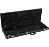 Fender Classic Series Wood Guitar Case - Strat/Tele, Black