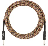 Fender 18.6' Festival Instrument Cable, Pure Hemp, Rainbow