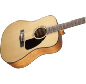 Fender CD-60 Dread V3 DS Acoustic Guitar, Natural, Walnut