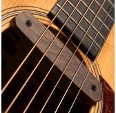 Fishman Neo-D Woodgrain Passive Single Coil Soundhole Pickup For Acoustic Guitar