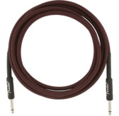 Fender Professional Series Instrument Cables, 10', Red Tweed
