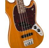 Fender Player Mustang Bass PJ, Aged Natural, Pau Ferro