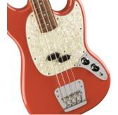 Fender Vintera '60s Mustang Bass, Fiesta Red, Pau Ferro