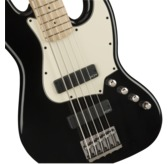 Fender Squier Contemporary Active Jazz Bass HH V, Black, Maple