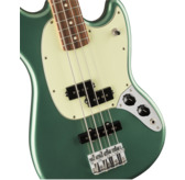 Fender Limited Edition Player Mustang Bass PJ, Sherwood Green Metallic, Pau Ferro