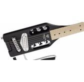 Traveler Guitar Ultra-Light Electric Standard Travel Guitar, Black Gloss
