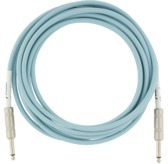 Fender Original Series Instrument Cable, 10', Daphne Blue