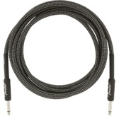Fender Professional Series Instrument Cables, 10', Gray Tweed