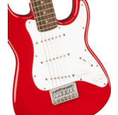 Fender Squier Mini Stratocaster, Dakota Red, Laurel