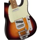 Fender Vintera '60s Telecaster Bigsby, 3-Colour Sunburst, Pau Ferro