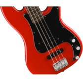 Fender Squier Affinity Series Precision Bass PJ, Race Red, Laurel