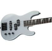 Jackson JS Series Concert Bass Minion JS1X, Satin Silver, Amaranth