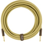 Fender Deluxe Series Instrument Cable, Straight/Straight, 18.6', Tweed