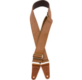 """Fender Tooled Leather Guitar Strap, 2"""", Brown"""