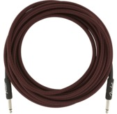 Fender Professional Series Instrument Cable, 18.6', Red Tweed