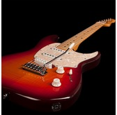 Godin Progression Plus - Cherry Burst Flame HG Maple Electric Guitar & Case