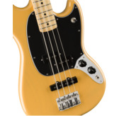 Fender Limited Edition Player Mustang Bass PJ, Butterscotch Blonde, Maple